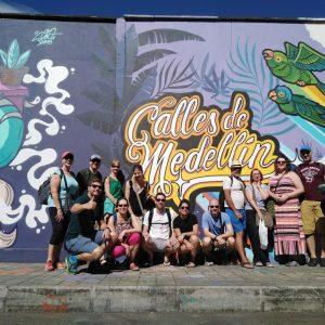 walking tour medellin